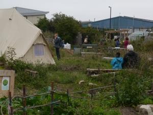 Peckham encampment